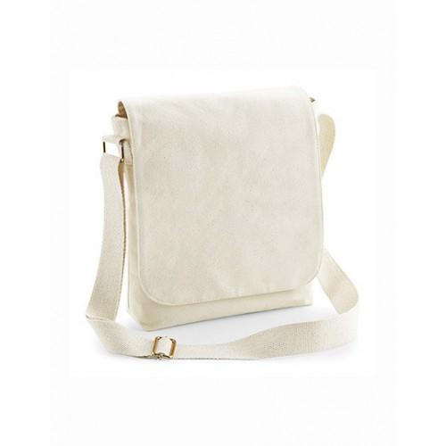 Fairtrade Cotton Canvas Midi Messenger