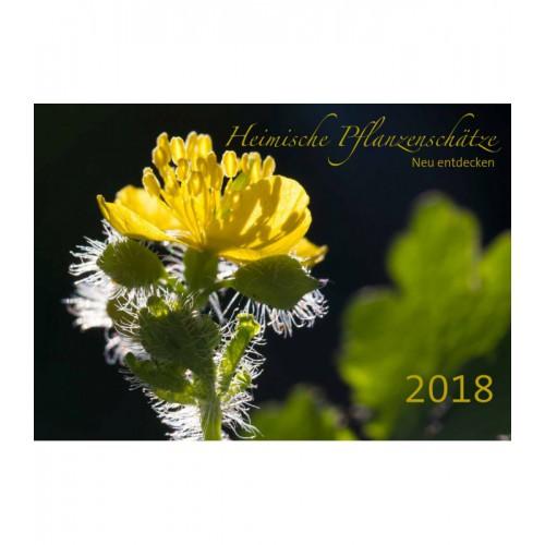 "Kalender ""Heimische Pflanzenschätze neu entdecken 2018"""