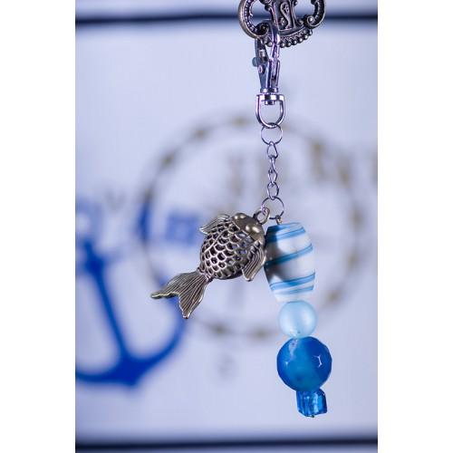 "Schlüsselanhänger ""Fisch"" - Bronze"