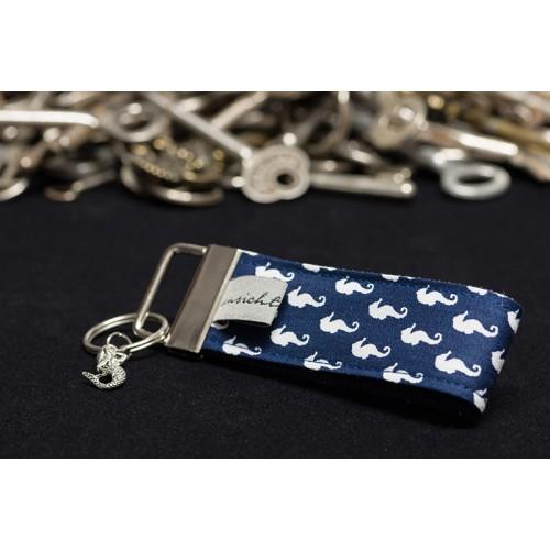 """Schlüsselband """"Seepferdchen mit Meerjungfrau"""" - Limited Edition"""