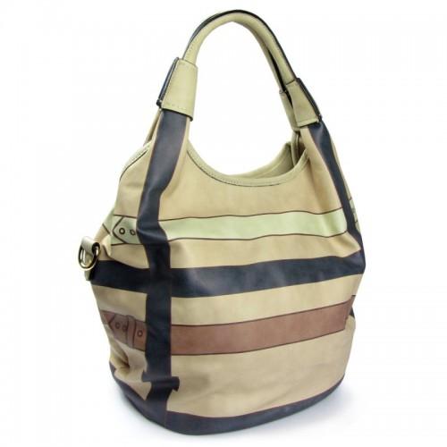 """Handtasche """"Streifen-Optik"""""""